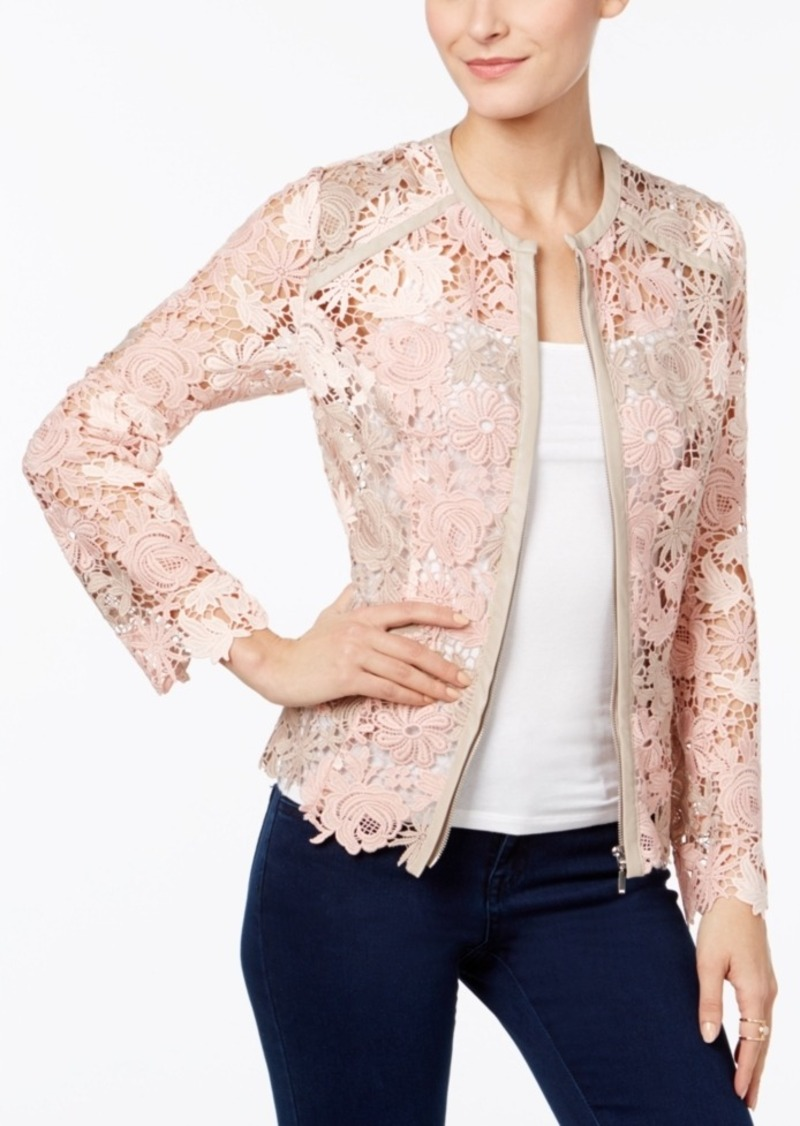 bcbbb51f491 INC International Concepts Inc International Concepts Lace Jacket ...