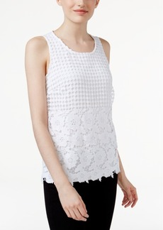 Inc International Concepts Lace Tank Top, Only at Macy's
