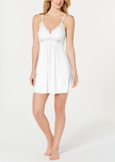 Inc International Concepts Lace-Trimmed Knit Chemise Nightgown, Created for Macy's