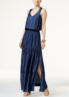 Inc International Concepts Lattice-Back Maxi Dress, Created for Macy's