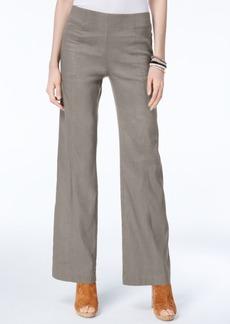 Inc International Concepts Linen-Blend Wide-Leg Pants, Created for Macy's