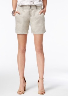 Inc International Concepts Linen Shorts, Only at Macy's