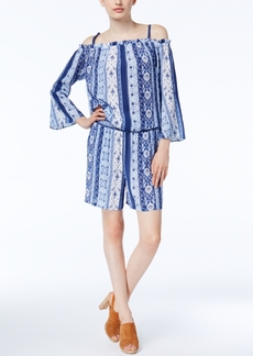 Inc International Concepts Off-The-Shoulder Romper, Only at Macy's