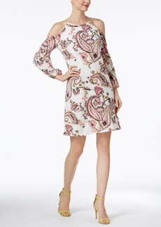 Inc International Concepts Paisley-Print Cold-Shoulder Dress, Only at Macy's