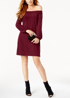 Inc International Concepts Off-The-Shoulder Shift Dress, Created for Macy's