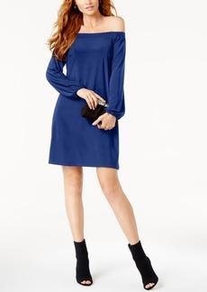 I.n.c. Off-The-Shoulder Shift Dress, Created for Macy's