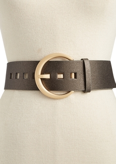 INC International Concepts I.n.c. Oversized Crescent-Buckle Belt, Created for Macy's