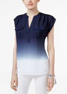 Inc International Concepts Dip-Dyed Top, Created for Macy's