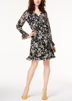 I.n.c. Petite Floral-Print Wrap Dress, Created for Macy's