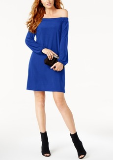 Inc International Concepts Petite Off-The-Shoulder Dress, Created for Macy's