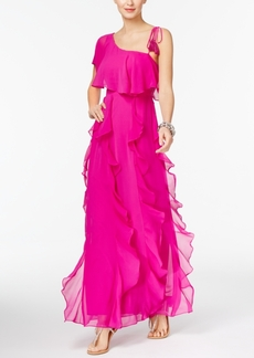 Inc International Concepts Popsicle One-Shoulder Maxi Dress, Only at Macy's