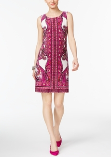 Inc International Concepts Petite Printed Sheath Dress, Created for Macy's