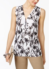 Inc International Concepts Faux-Wrap Top, Created for Macy's