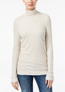 I.n.c. Petite Ribbed Turtleneck Top, Created for Macy's