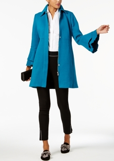 Inc International Concepts Petite Ruffle-Sleeve Jacket, Created for Macy's
