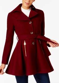 Inc International Concepts Petite Skirted Walker Coat, Created at Macy's