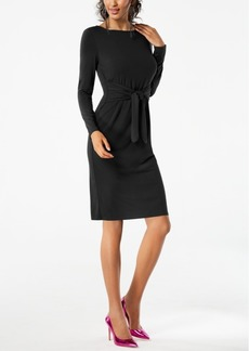 I.n.c. Petite Tie-Waist Dress, Created for Macy's