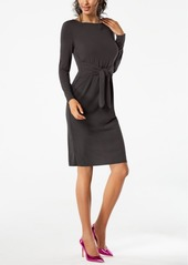 INC International Concepts I.n.c. Petite Tie-Waist Dress, Created for Macy's