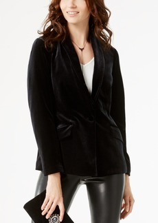 Inc International Concepts Petite Velvet Blazer, Created for Macy's