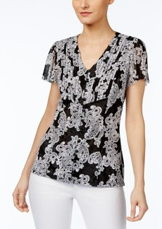 Inc International Concepts Pintucked Blouse, Created for Macy's