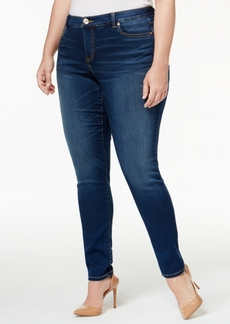 Inc International Concepts Plus Size Beyond Stretch Skinny Jeans, Only at Macy's