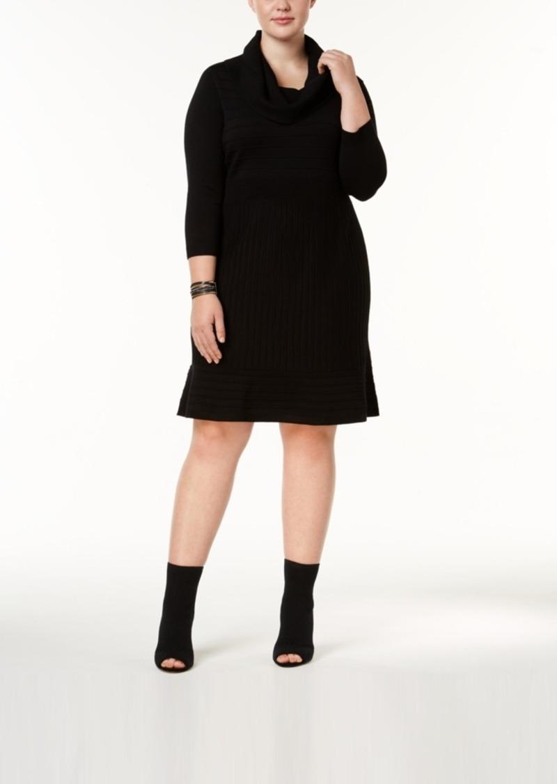 Sale Inc International Concepts Inc Plus Size Cowl Neck Sweater