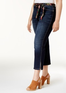 Inc International Concepts Plus Size Cropped Skimmer Jeans, Created for Macy's