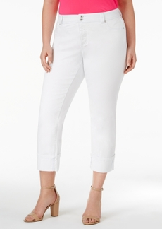 I.n.c. Plus Size Cuffed Skinny Jeans, Created for Macy's