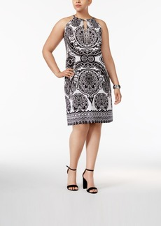 Inc International Concepts Plus Size Embellished Sheath Dress, Only at Macy's