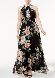 Inc International Concepts Plus Size Floral-Print Maxi Dress, Only at Macy's