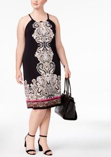 Inc International Concepts Plus Size Keyhole Sheath Dress, Created for Macy's
