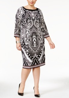 Inc International Concepts Plus Size Midi Sheath Dress, Only at Macy's