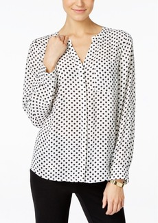 Inc International Concepts Polka-Dot Blouse, Only at Macy's