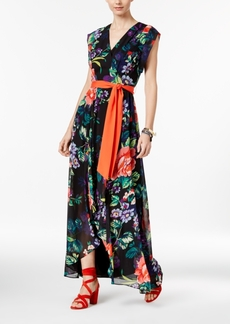 Inc International Concepts Printed High-Low Maxi Dress, Only at Macy's