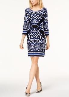 I.n.c. Petite Printed Sheath Dress, Created for Macy's