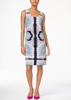 Inc International Concepts Printed Sheath Dress, Created for Macy's