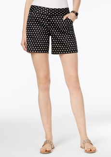Inc International Concepts Curvy Printed Shorts, Only at Macy's