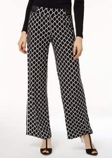 INC International Concepts I.n.c. Petite Geo-Print Pants, Created for Macy's