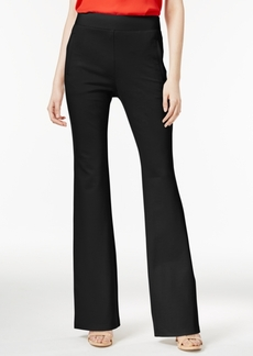 Inc International Concepts Curvy-Fit Flare-Leg Trousers, Only at Macy's