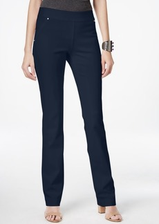 Inc International Concepts Pull-On Straight-Leg Pants, Created for Macy's