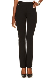 Inc International Concepts Curvy Pull-On Straight-Leg Pants, Created for Macy's