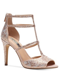 Inc International Concepts Raechie Embellished Evening Sandals, Created for Macy's Women's Shoes