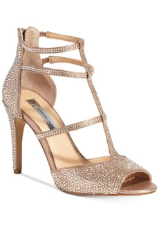 Inc International Concepts Raechie Embellished Evening Sandals, Only at Macy's Women's Shoes
