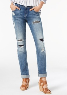 Inc International Concepts Ripped Boyfriend Jeans, Created for Macy's