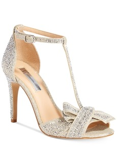 Inc International Concepts Risha Embellished Knot Detail Evening Sandals, Only at Macy's Women's Shoes