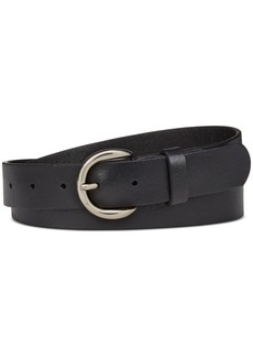 Inc International Concepts Riveted Leather Pants Belt, Only at Macy's