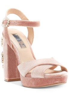 I.n.c. Rosarria Block-Heel Sandals, Created for Macy's Women's Shoes