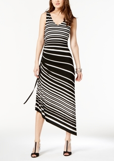 I.n.c. Petite Side-Ruched Maxi Dress, Created for Macy's
