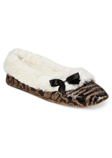 Inc International Concepts Sequined Ballerina Slippers, Only at Macy's
