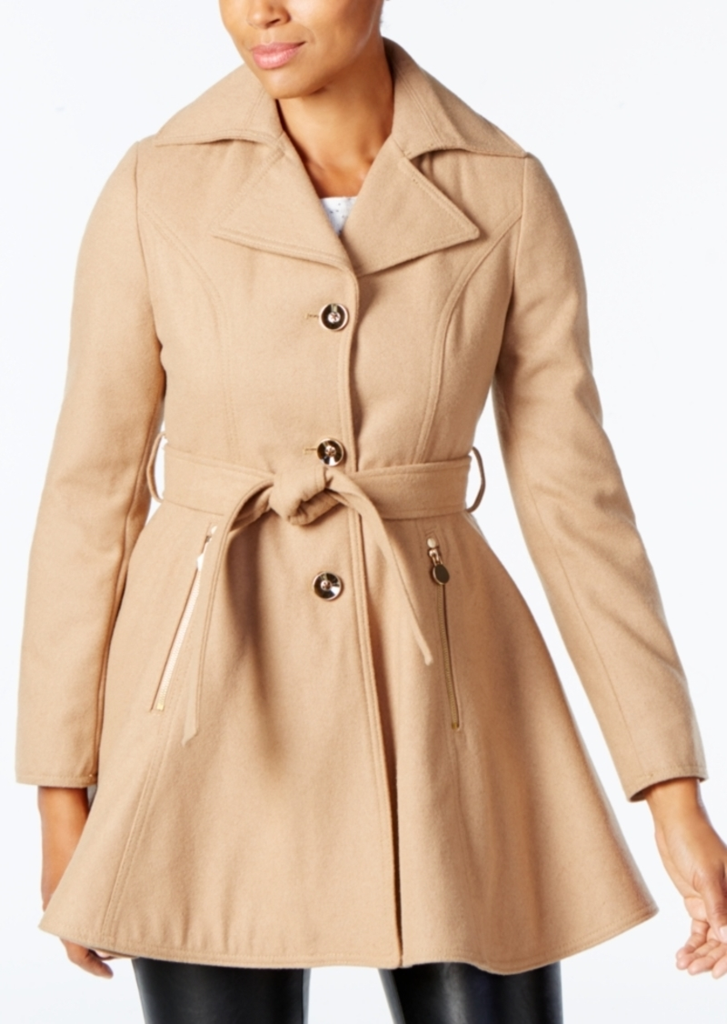 INC International Concepts I.n.c. Skirted Peacoat, Created for Macy's